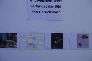 Visualizing scents & analyzing the visualization of scent at the University of the Arts Berlin