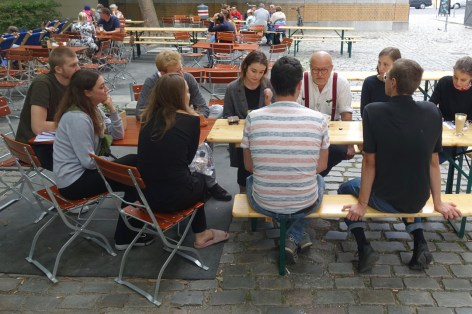Exploring Osmodrama with UDK students and meeting the artist Wolfgang Georgdorf in Berlin
