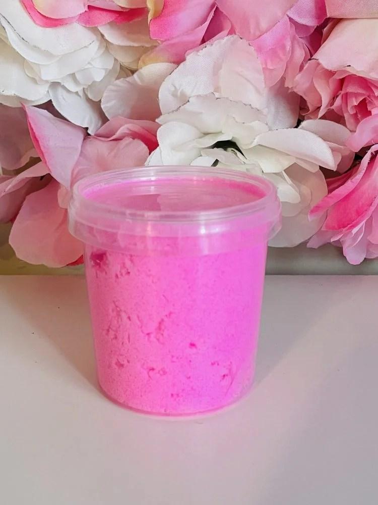 Pink Bath Scrub