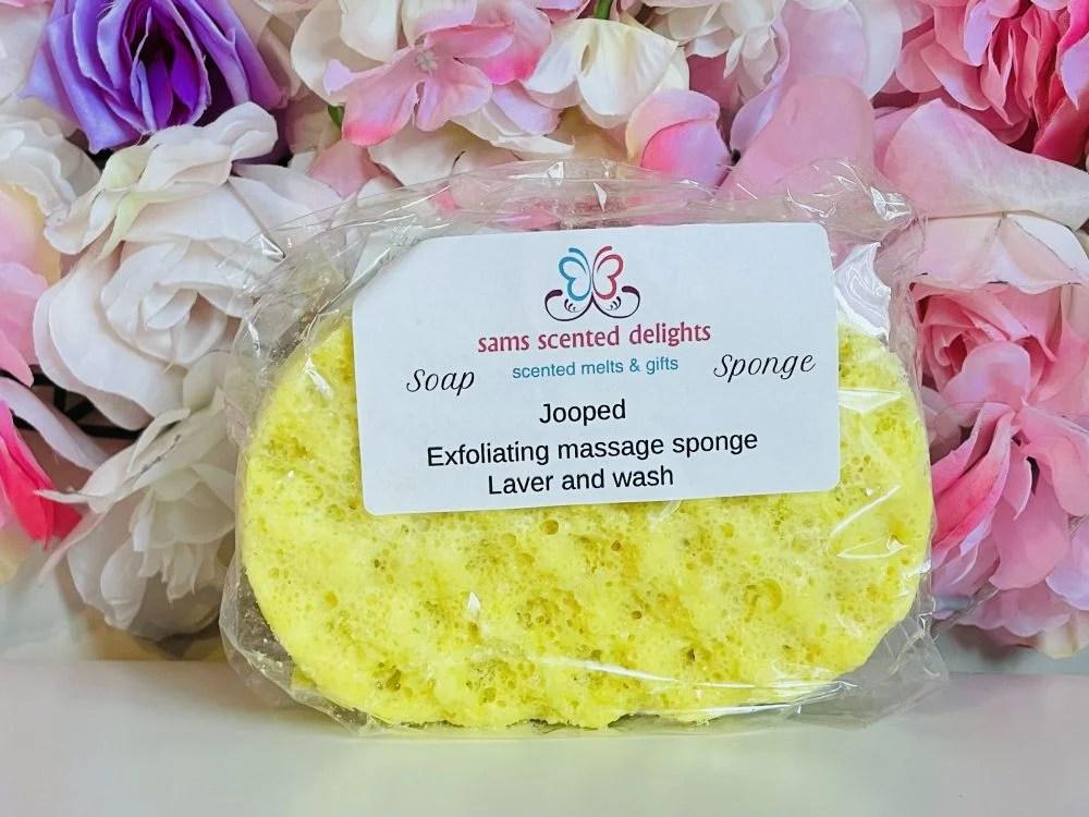 Yellow Joop Soap Sponge