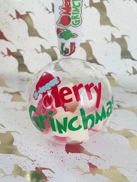 Merry Grinchmas Christmas Bauble