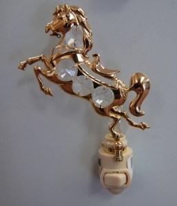 Gold Horse Night Light