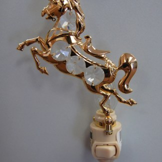 Gold Horse Night Light