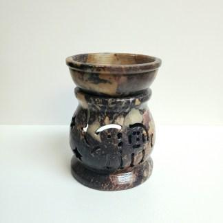 Elephant Soapstone Oil Burner
