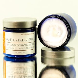 natural body butter, Nakedly Delightful Whipped Body Butter, happy for women,