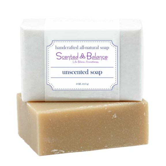 All Natural Unscented Soap for Eczema and Psoriasis