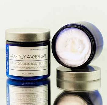 Nakedly Awesome Whipped Body Butter, Deep Hydration Body Butter
