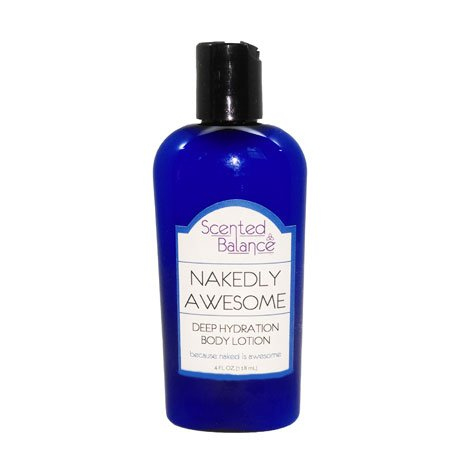 Nakedly Awesome Body Lotion, Bergamot, Awesome