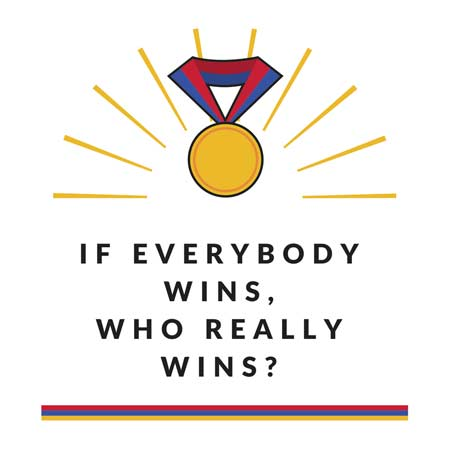 If Everybody Wins Who Really Wins?, Law Of Attraction, Sense of Entitlement, Good Kid, Criticism