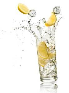fresh lemon juice, drink lemon water