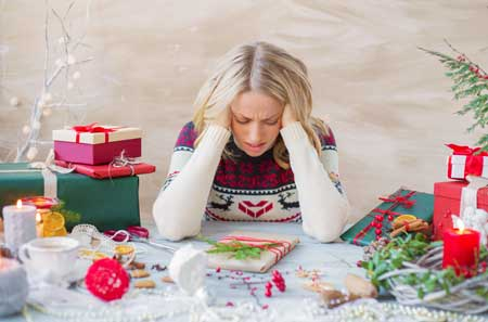 help for holiday depression, depression and anxiety during the holidays
