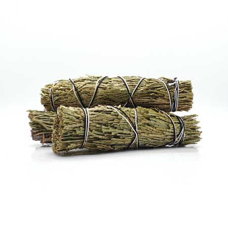 Cedarwood Smudge Stick, clear negative energy