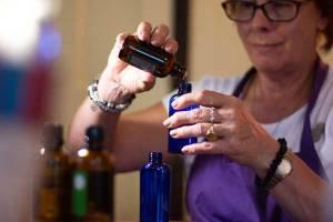 Melissa Curran, Blending Pure Essential Oils, Scented Balance Aromatherapy Shop, custom essential oil blend,
