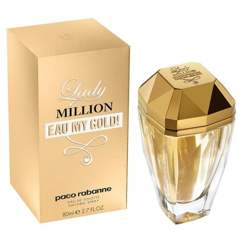 Paco Rabanne Lady Million Eau My Gold 80ml with Box