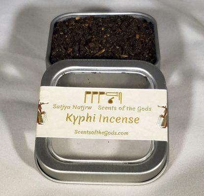 Kyphi Incense 2oz Displayed