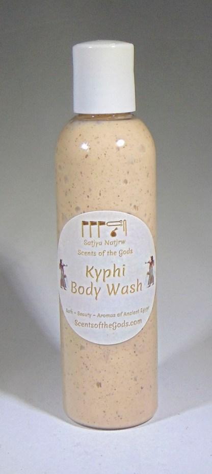 Kyphi Body Wash 4 oz Front