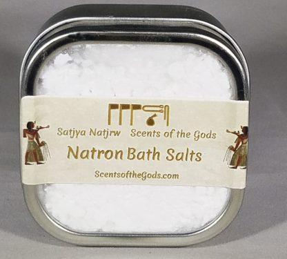 Natron Bath Salts 4 oz Front