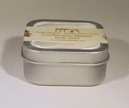 Frankincense Natron Bath Salts 2oz Front