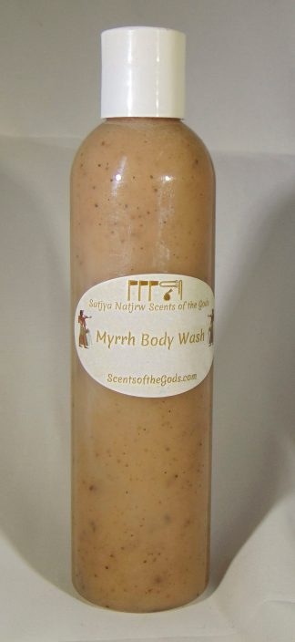 Myrrh Body Wash 8oz Front