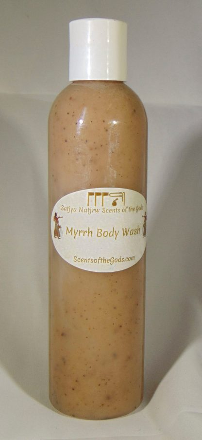 Myrrh Body Wash 8oz Front