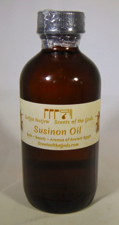 Susinon Oil 4oz Front