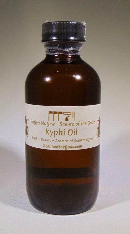 Kyphi Oil 4oz Front