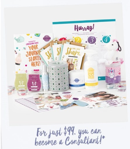 scentsy starter kit contents 2017