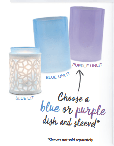 darling scentsy warmers choose colors