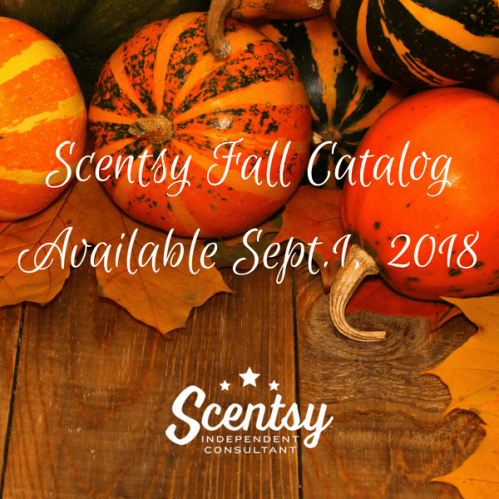 New Scentsy Fall Winter 2018 Catalog