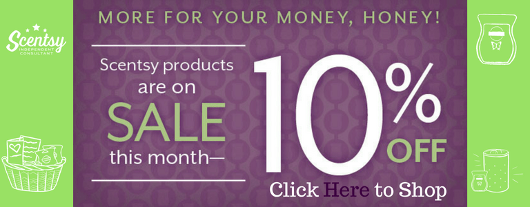 Scentsy Sale August 2018