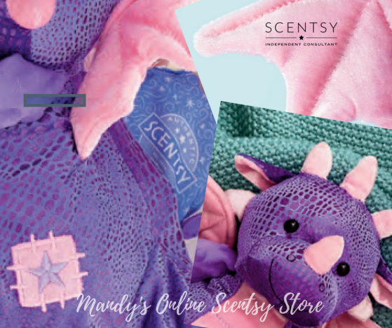 Purple Dragon Scentsy Buddy