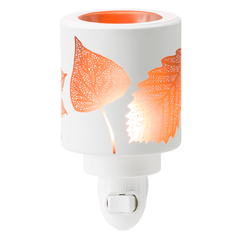 amber leaves scentsy mini warmer