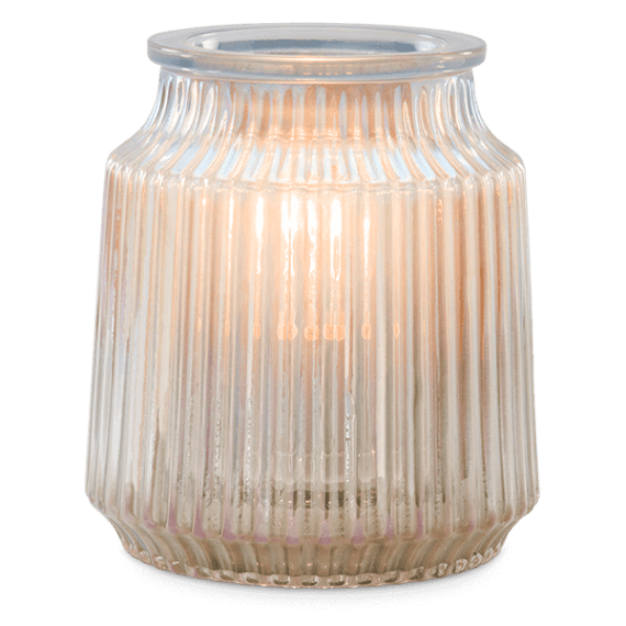 Fluted Gray Warmer