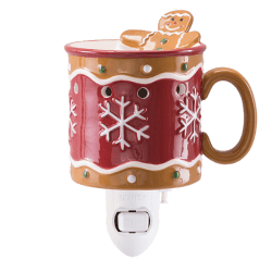 gingerbread man scentsy mini warmer