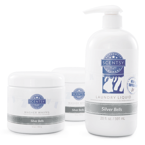 silver bells scentsy laundry bundle
