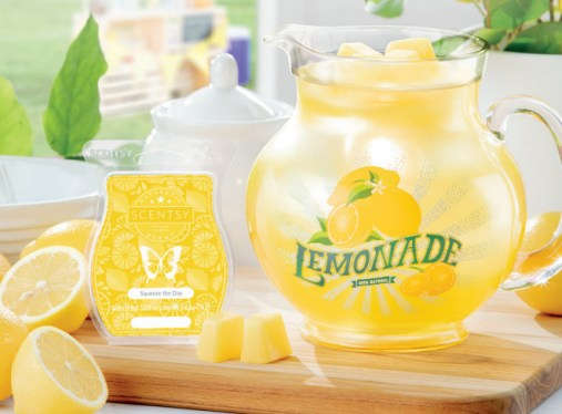 lemon love scentsy warmer and scent of the month june 2019