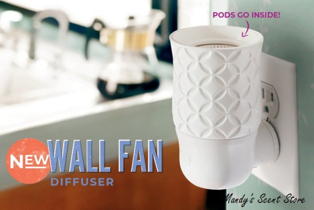 NEW SCENTSY WALL FAN DIFFUSER
