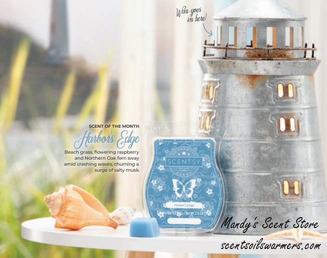 Portland Lighthouse Scentsy Warmer Aug
