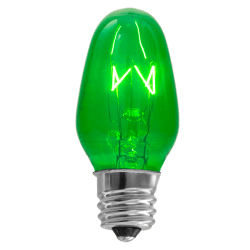 15 Watt Green Scentsy Bulb