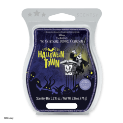 nightmare before christmas halloween town scentsy wax bar