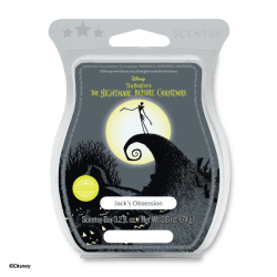 nightmare before christmas jacks obsession scentsy wax bar