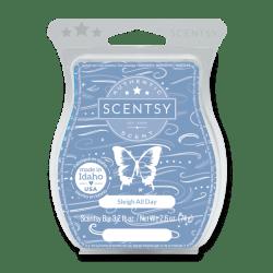 sleigh all day scentsy wax bar