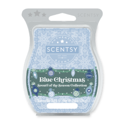 Blue Christmas Scentsy Wax Bar