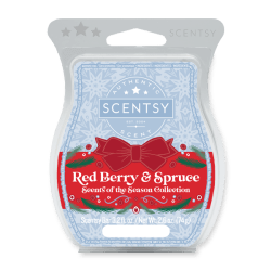 Red Berry & Spruce Scentsy Wax Bar