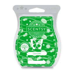 Coco Lime Scentsy Wax Bar
