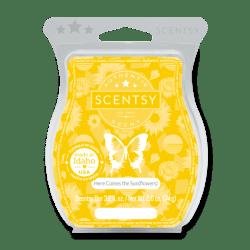 Sunflowers Scentsy Wax Bar