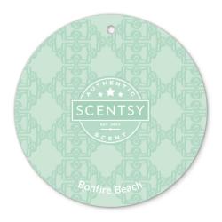 bonfire beach scentsy scent circle