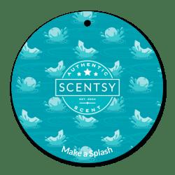 make splash scentsy scent circle