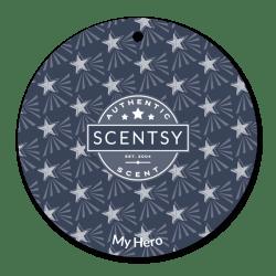 my hero scentsy scent circle