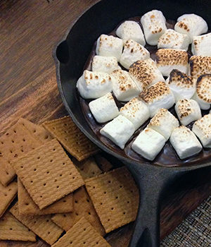 Photo of S'mores ingredients